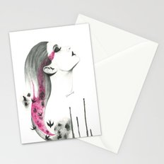 Human + nature Stationery Cards