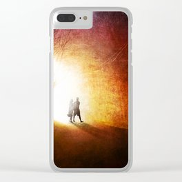 A Walk to Remember Clear iPhone Case