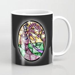 Stained Glass Mulan Coffee Mug