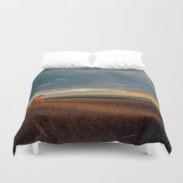 Bay-Watch Tower  Duvet Cover