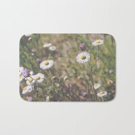 Matte Flowers Bath Mat