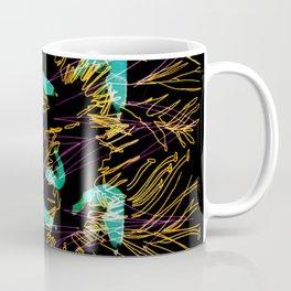 Corals and Crustaceans Burst Coffee Mug