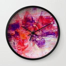 Violet ballet Wall Clock
