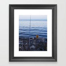 Sunrise Fishing  Framed Art Print