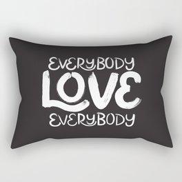 ELE: Everybody Love Everybody Rectangular Pillow