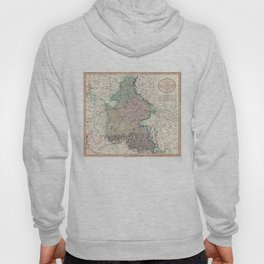 Vintage Map of Bavaria Germany (1799) Hoody