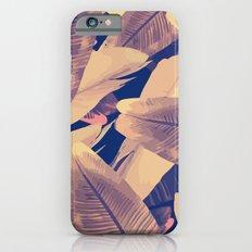 Banana Leaves Sepia iPhone 6s Slim Case