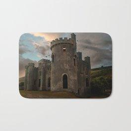 Clifden Castle at the sunset Bath Mat