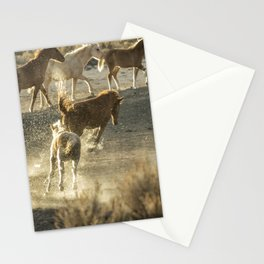 Hijinks at the Waterhole Stationery Cards