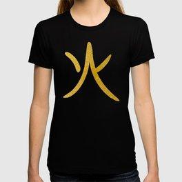 Japanese Word for Fire Kanji Art Symbol Gift T-shirt
