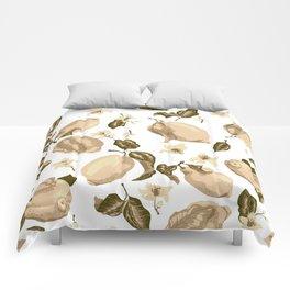 Lemon Slices Graphic Design Comforters