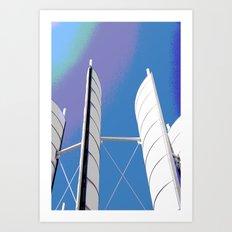 Metal Sails #1 Art Print