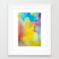 heaven Framed Art Prints featuring Heaven by elena + stephann