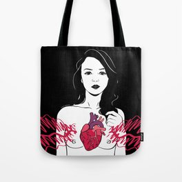 My heart is exploding Tote Bag