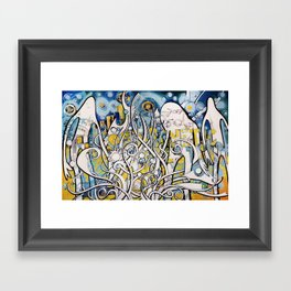 Magnetic Galactic Framed Art Print