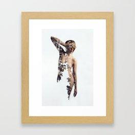 Amidst the Pine Framed Art Print