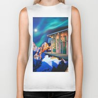 new orleans Biker Tanks featuring Planet of New Orleans by John Turck