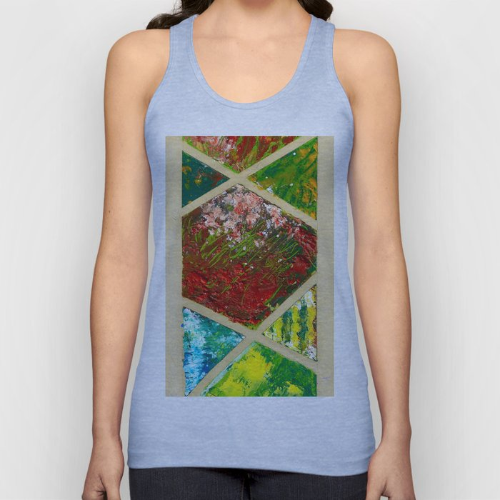 Geometric abstraction Unisex Tank Top