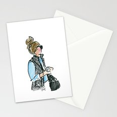 Top Knot. Tweed Vest. Stationery Cards