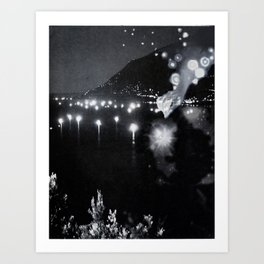 Light Lake Art Print