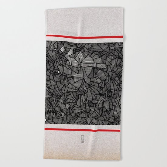 - closed - Beach Towel