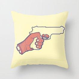 Shoot Throw Pillow