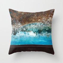 Distant Shores Throw Pillow