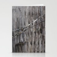 the wire Stationery Cards featuring wire  by Stephanie Dana