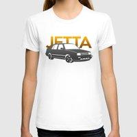 volkswagen T-shirts featuring Volkswagen Jetta by Vehicle