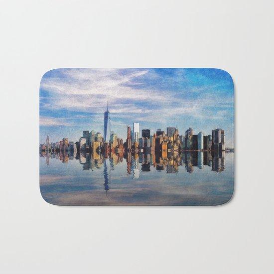 New York Reflections Bath Mat