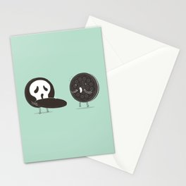 Cookies and Scream Stationery Cards
