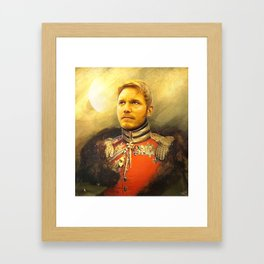 Starlord Guardians Of The Galaxy General Portrait Painting | Fan Art Framed Art Print