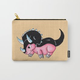 Tricerapiggy Carry-All Pouch