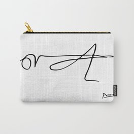 Pablo Picasso Le sauterelle 1906 Grasshopper Line Drawing Artwork For Prints Posters Tshirts Bags Wo Carry-All Pouch