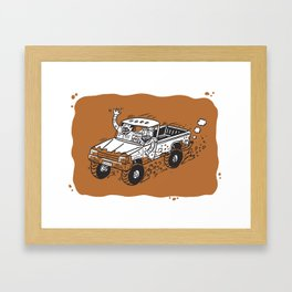 Hillbilly 4x4'ers Framed Art Print