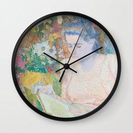 Marie Jeanette de Lange, Jan Toorop, 1900 Wall Clock