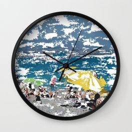 Beach III Wall Clock