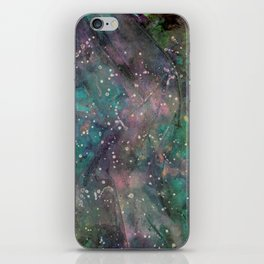 Galaxy Starry Night iPhone Skin
