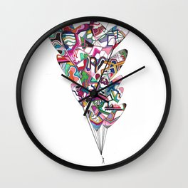Letting Go of Love Wall Clock