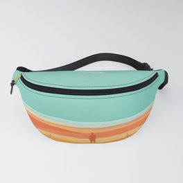 Where the sea meets the sky Fanny Pack
