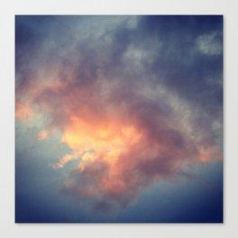 Fiery cloud Canvas Print
