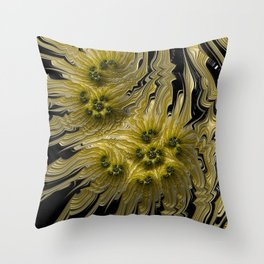 Xanthian Sunflowers Throw Pillow