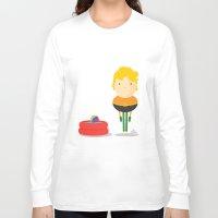 aquaman Long Sleeve T-shirts featuring My liquid hero! by Juliana Rojas | Puchu