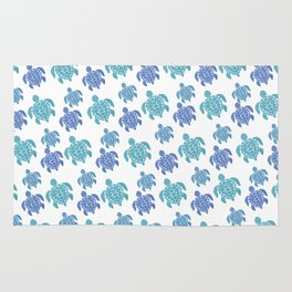 Turtle Pattern Rug