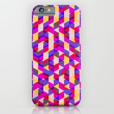 Myth Syzer - Neon (Pattern #12) Slim Case iPhone 6s