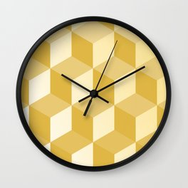 Geometric Circle Study Series No. 3 Wall Clock