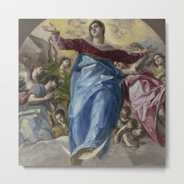 The Assumption of the Virgin, Metal Print