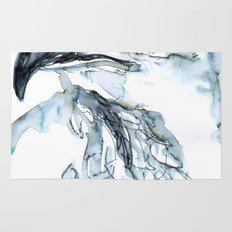 Hawk, Watercolor Rug