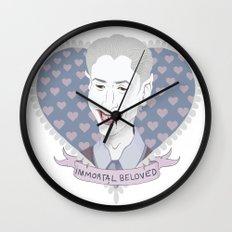 Immortal Beloved Wall Clock
