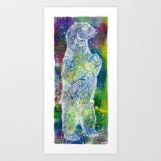 Star Bear Art Print
